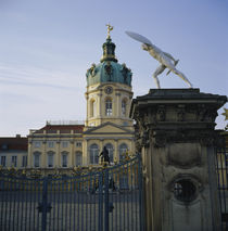 Facade of a palace, Charlottenburg Palace, Berlin, Germany by Panoramic Images