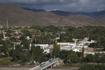 High angle view of a town, Cachi, Salta Province, Argentina by Panoramic Images