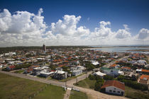 High angle view of a town, La Paloma, Rocha Department, Uruguay von Panoramic Images
