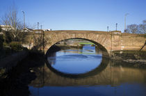 Single Span Bridge of the Colligan River by Panoramic Images