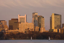 Buildings at the waterfront, Charles River, Boston, Massachusetts, USA by Panoramic Images