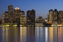 Buildings at the waterfront, Boston, Massachusetts, USA von Panoramic Images