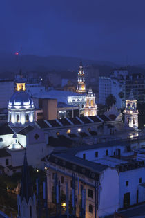 Buildings in a city, Iglesia San Francisco, Salta Cathedral, Salta, Argentina by Panoramic Images