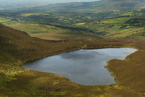 The Nire Valley from the Comeragh Mountains, County Waterford, Ireland von Panoramic Images