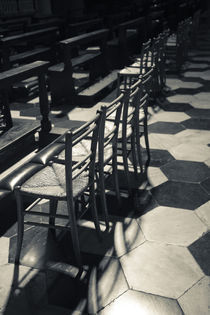 Interior seating in cathedral von Panoramic Images