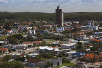 Buildings in a town, La Paloma, Rocha Department, Uruguay