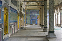 Corridor of a palace, Topkapi Palace, Istanbul, Turkey von Panoramic Images