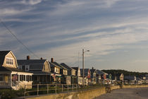 Beach houses, Long Beach, Rockport, Cape Ann, Massachusetts, USA von Panoramic Images