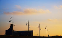 Lamps on Tramore Promenade, County Waterford, Ireland by Panoramic Images