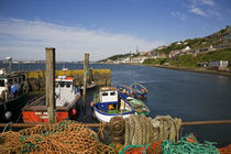 Fishing Harbour at the Pilot Boast Qauy, Cobh, County Cork, Ireland von Panoramic Images