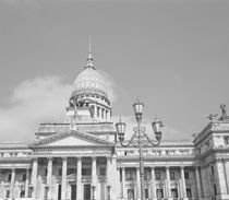Low angle view of a government building by Panoramic Images