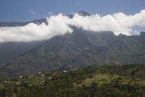 Town in a mountain range, Cilaos, Cirque de Cilaos, Reunion Island von Panoramic Images