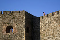 Carrickfergus Castle Walls, County Antrim, Ireland von Panoramic Images