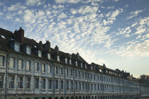 Low angle view of a building, Jura Doubs, Quai Vauban, Besancon, France by Panoramic Images
