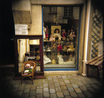Dolls for display in a store, France by Panoramic Images