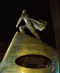 Low angle view of a statue of Adam Clayton Powell Jr von Panoramic Images