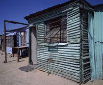 Huts in a shanty town, Kibera, Nairobi, Kenya by Panoramic Images
