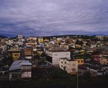 High angle view of a city, Congonhas, Minas Gerais, Brazil von Panoramic Images