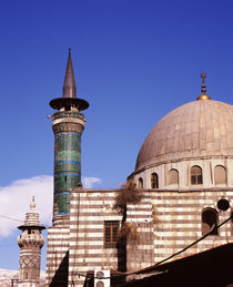 Low angle view of a mosque, Syria von Panoramic Images