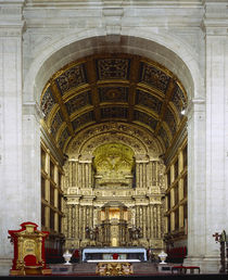 Interiors of a church, Salvador, Brazil von Panoramic Images