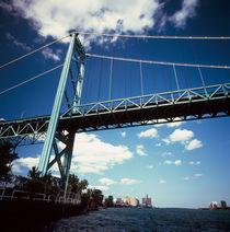 Bridge across a river von Panoramic Images