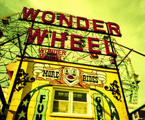Entrance to the Wonder Wheel von Panoramic Images