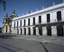Courtyard of a Town Hall, Cabildo De Cordoba, Cordoba, Argentina by Panoramic Images