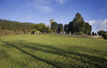 Old Churchyard at Mocollop, Near Ballyduff, County Waterford, Ireland von Panoramic Images