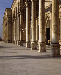 Colonnade of a mosque, Egypt