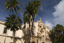 Theater in a park, Casa del Prado, Balboa Park, San Diego, California, USA von Panoramic Images