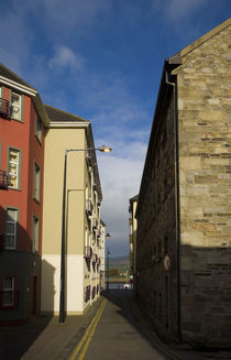 A blend of Old and New Buildings in narrow lanes by Panoramic Images