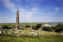 12th Century Round Tower, Ardmore, County Waterford, Ireland by Panoramic Images