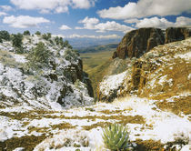 Snow over mountains, Tonto National Forest, Gila County, Arizona, USA by Panoramic Images