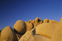 Low angle view of rock formations von Panoramic Images