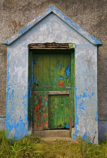 Paint Effects, Old Cottage, Bunmahon, County Waterford, Ireland von Panoramic Images