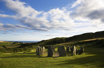 Drombeg Stone Circle, Near Glandore, County Cork, Ireland von Panoramic Images