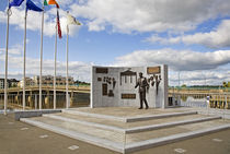 Sculpture to John F Kennedy by Anne Meldon Hugh von Panoramic Images