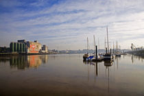 Early Morning River Suir, Waterford City, County Waterford, Ireland by Panoramic Images