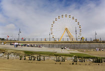 The Big Wheel and Promenade, Tramore, County Waterford, Ireland by Panoramic Images
