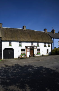 Cartlan's Thatched Pub, Kingscourt, County Cavan, Ireland von Panoramic Images