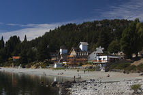 Tourists on the beach by Panoramic Images