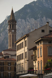 Basilica in a town by Panoramic Images