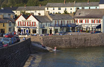 The Strand Inn and Cove, Dunmore East, County Waterford, Ireland von Panoramic Images