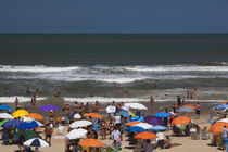 Tourists enjoying on the beach, Playa Brava, Punta Del Este, Maldonado, Uruguay von Panoramic Images