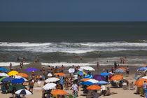 Tourists enjoying on the beach, Playa Brava, Punta Del Este, Maldonado, Uruguay by Panoramic Images