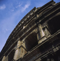 Low angle view of the Colosseum, Rome, Italy von Panoramic Images