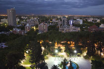 High angle view of a city, Mendoza, Argentina von Panoramic Images