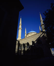 Low angle view of a mosque von Panoramic Images