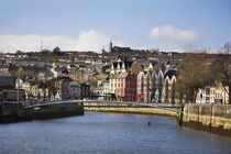 Kneeling Canoe, River Lee, Cork City, Ireland von Panoramic Images