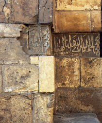 Details of a wall, Egypt von Panoramic Images